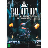 Fall Out Boy Live In Chicago [dvd Original Lacrado De Fabri]